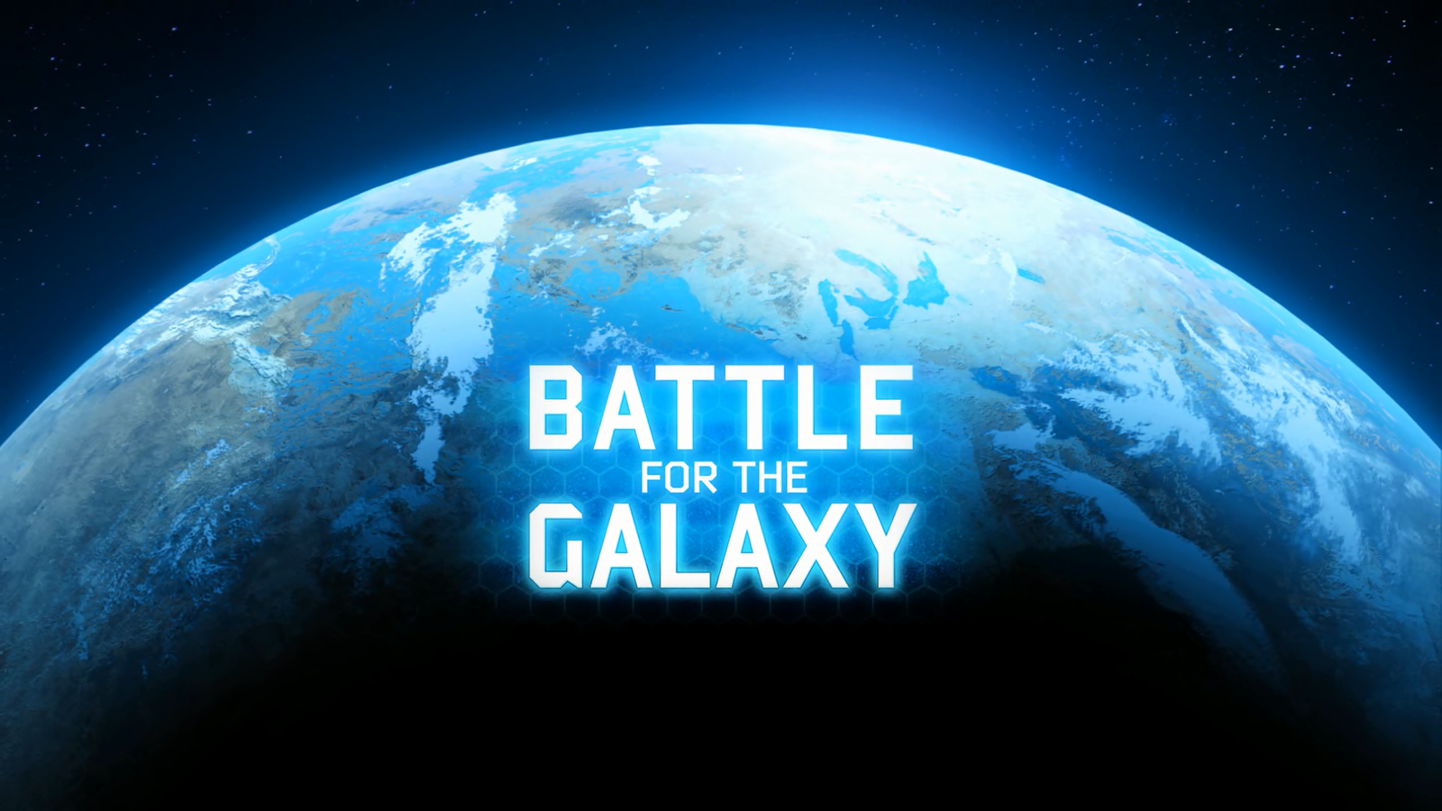 Some One Playing Video Game Png On Screen - File:Battle for the Galaxy, video game logo screen.png - Wikimedia ...
