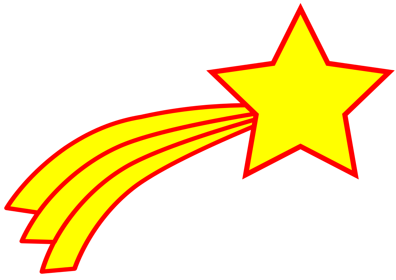 Star Comet Png - File:Christmas star or comet.svg - Wikimedia Commons