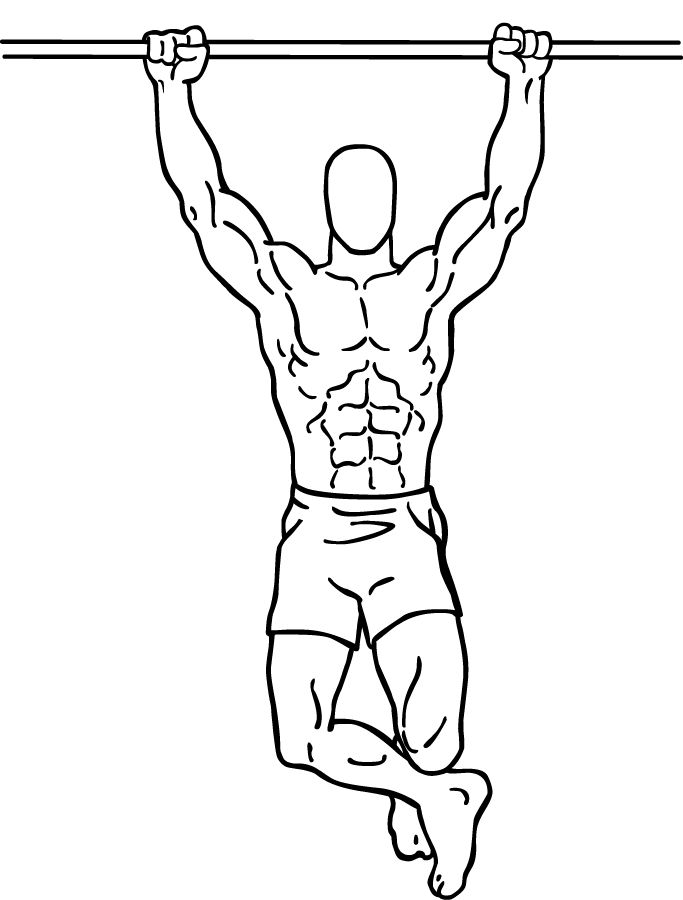 Chinup Png - File:Climbers-chin-up-2.png - Wikipedia
