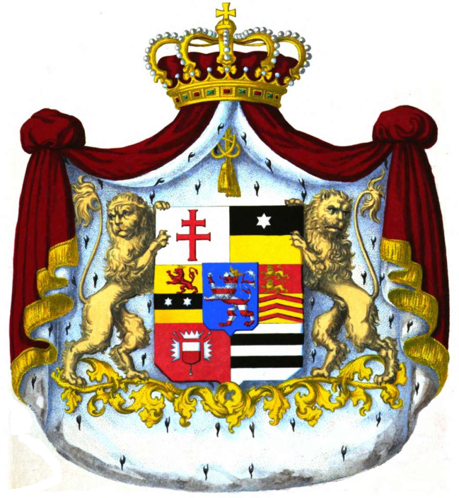 Coat Of Arms Of Hesse Png - File:Coat of arms of Landgraviate of Hesse-Homburg 1846.png ...
