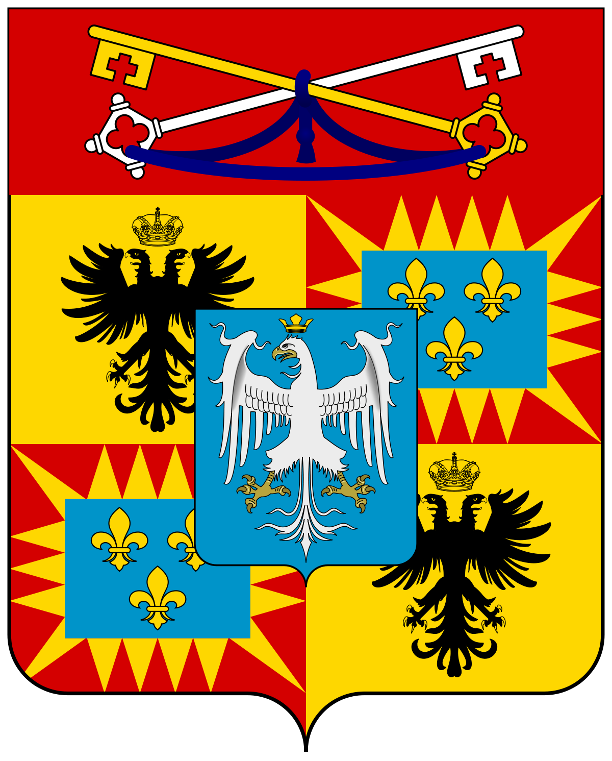 House Of Este Png - File:Coat of arms of the House of Este (1471).svg - Wikimedia Commons