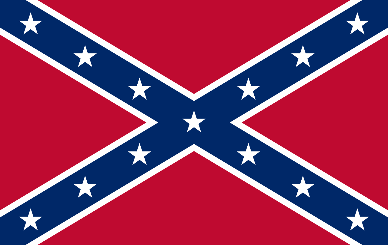 Confederate Png - File:Confederate Rebel Flag.svg - Wikimedia Commons