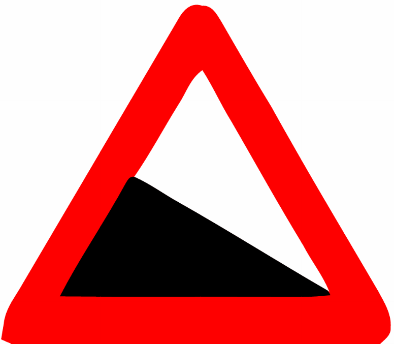 Descent Png - File:Dangerous descent (Israel road sign).png - Wikimedia Commons