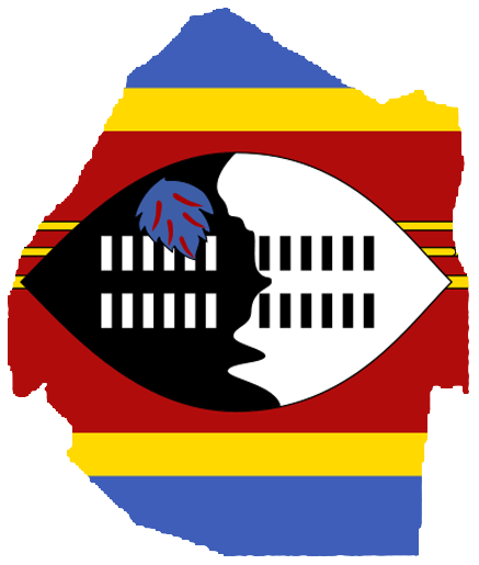 Swaziland Png - File:Flag-map of Swaziland.png - Wikimedia Commons