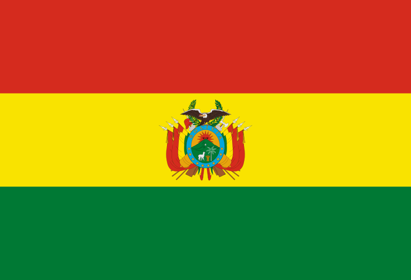 Flag Of Bolivia Png - File:Flag of Bolivia (state).svg - Wikimedia Commons