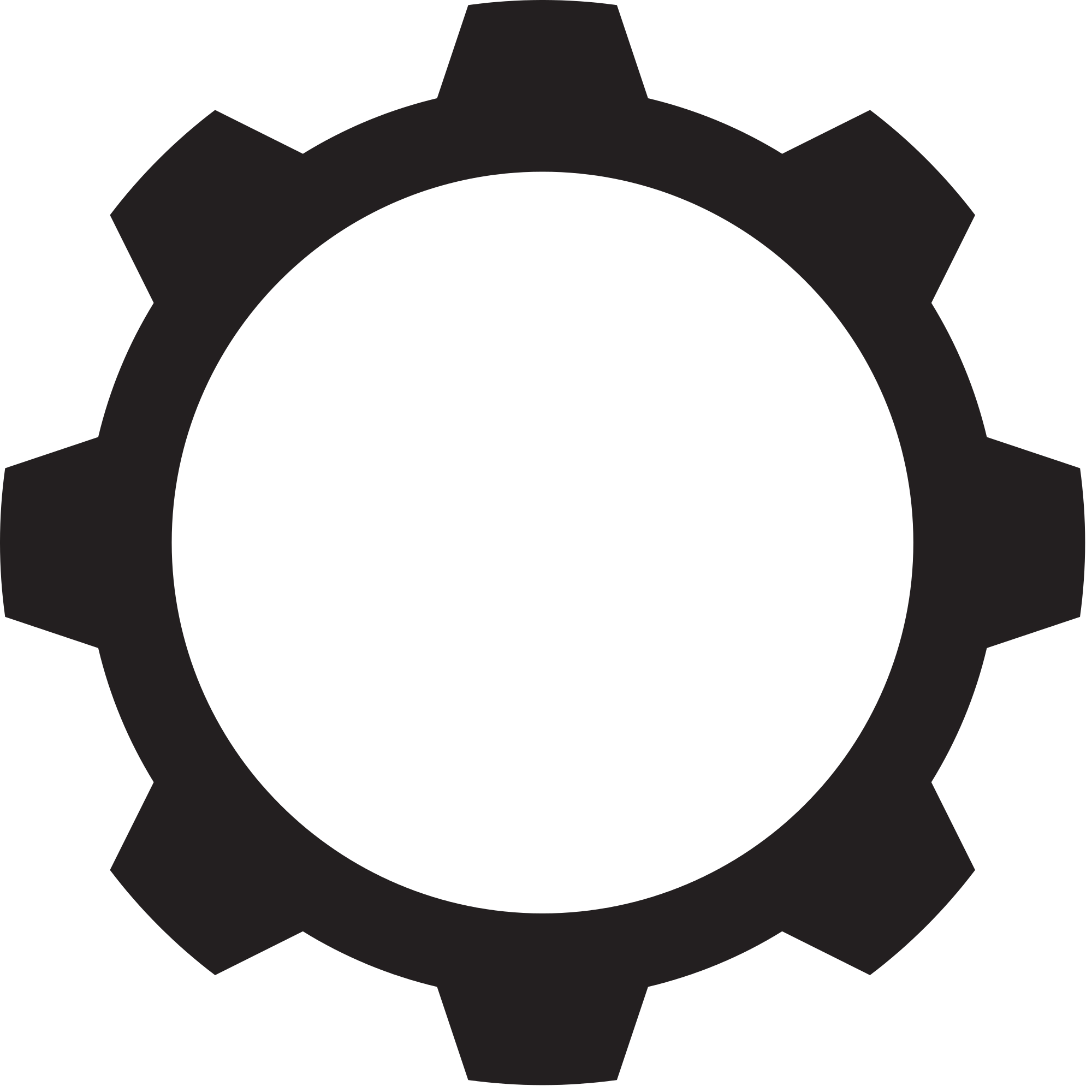 Gear Png Black And White - File:Gear shape black 11.svg - Wikimedia Commons