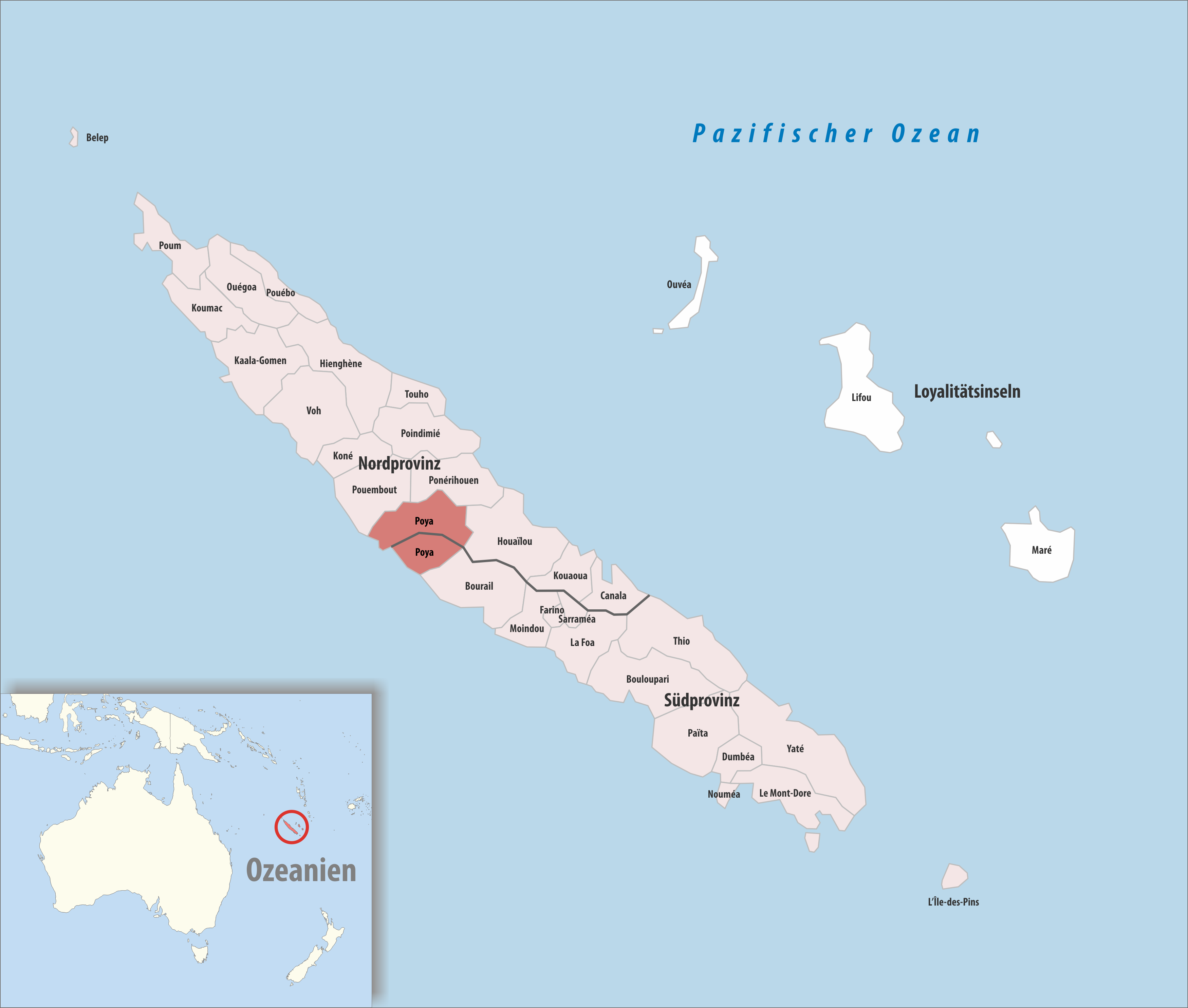 Poya Png - File:Locator map of Poya 2018.png - Wikimedia Commons