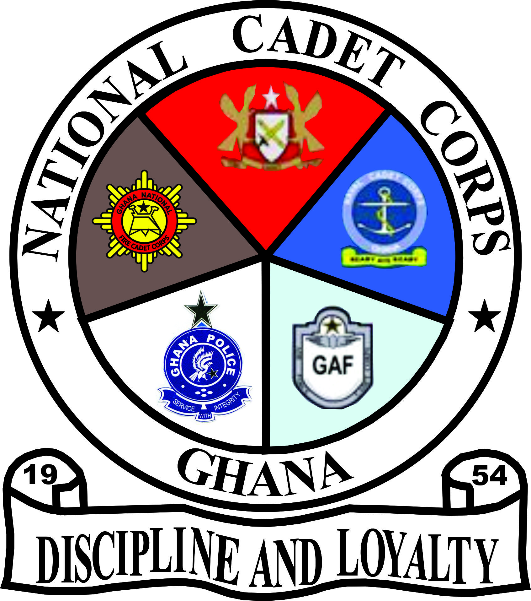Cadet Png - File:NCCG (National Cadet Corps Ghana).png - Wikimedia Commons