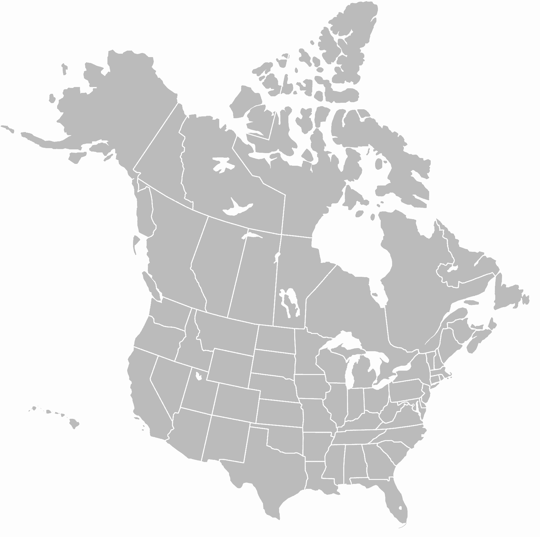 North America Map Png & Free North America Map.png Transparent ...