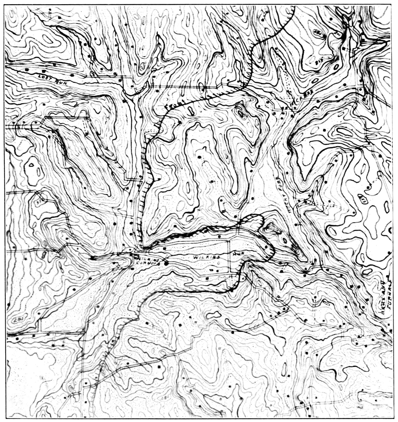 Human Settlement Png - File:PSM V72 D507 Topographic map of water sources and human ...