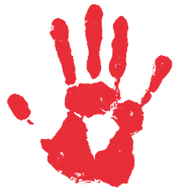 Right Hand Png - File:Red right hand.png - Wikimedia Commons