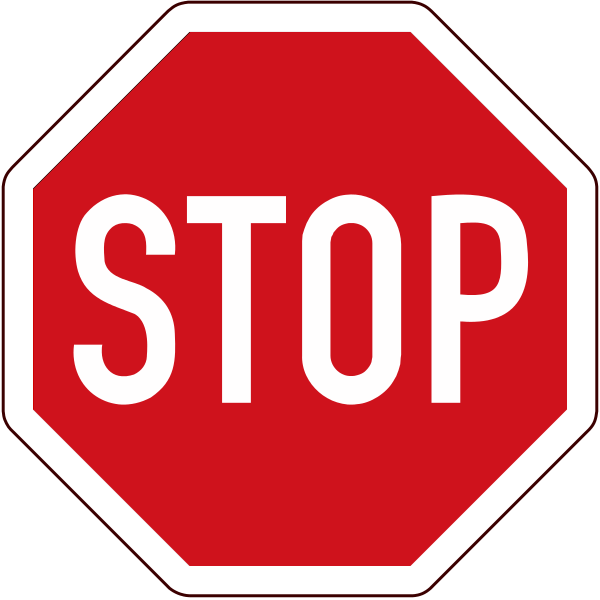 Png Of Stop Sign - File:South africa stop sign.png - Wikimedia Commons