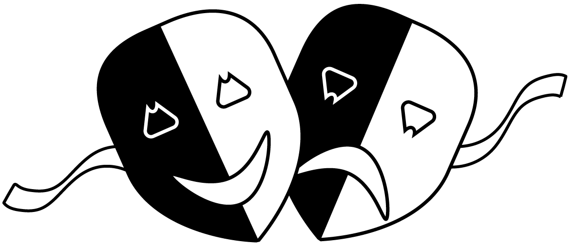 Drama Mask Png - File:Theatre Masks PNG.png - Wikimedia Commons