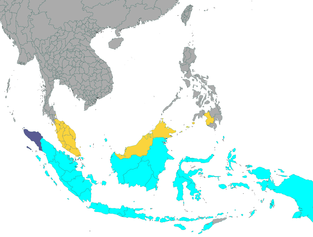 Southeast Asia Png - File:Use of sharia in Southeast Asia.png - Wikimedia Commons