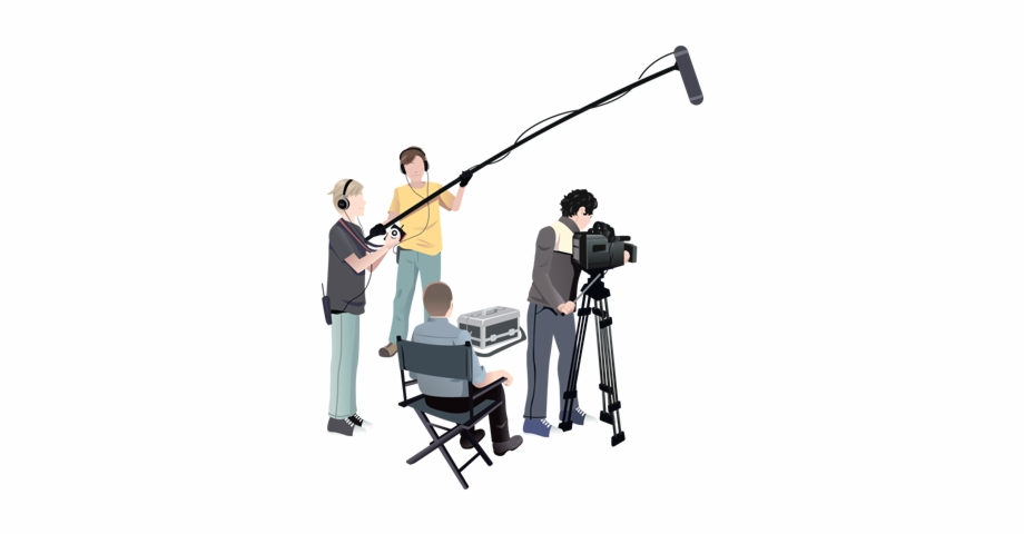 Filmmaking Png - Film Production - Film Crew Transparent Background, Transparent ...