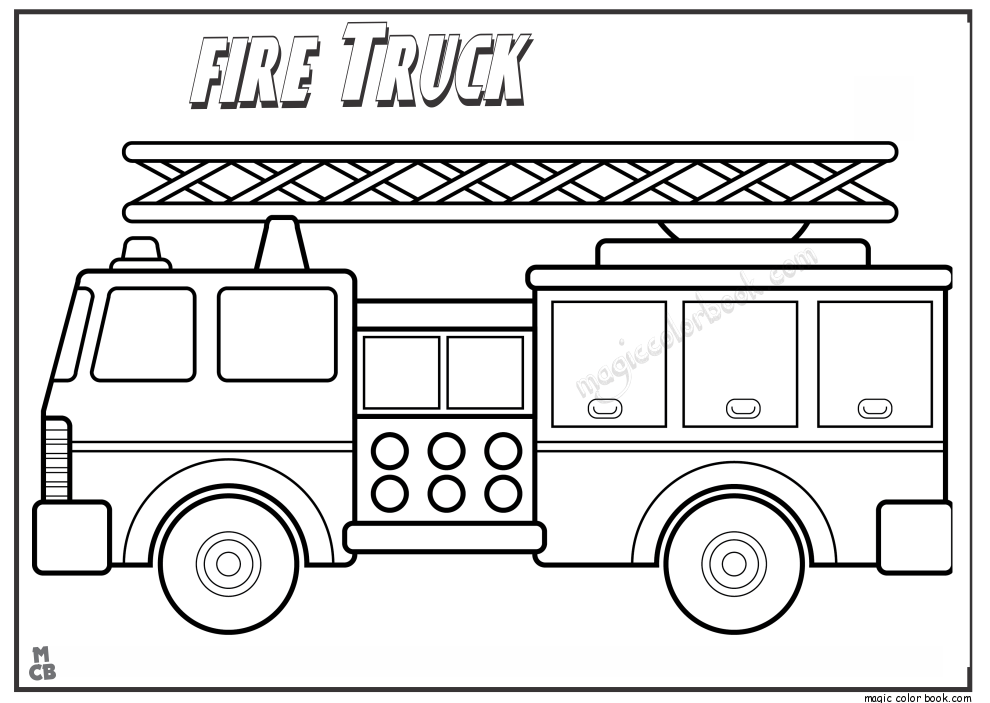 Dump Truck Coloring Pages - GetColoringPages.com | 703x990