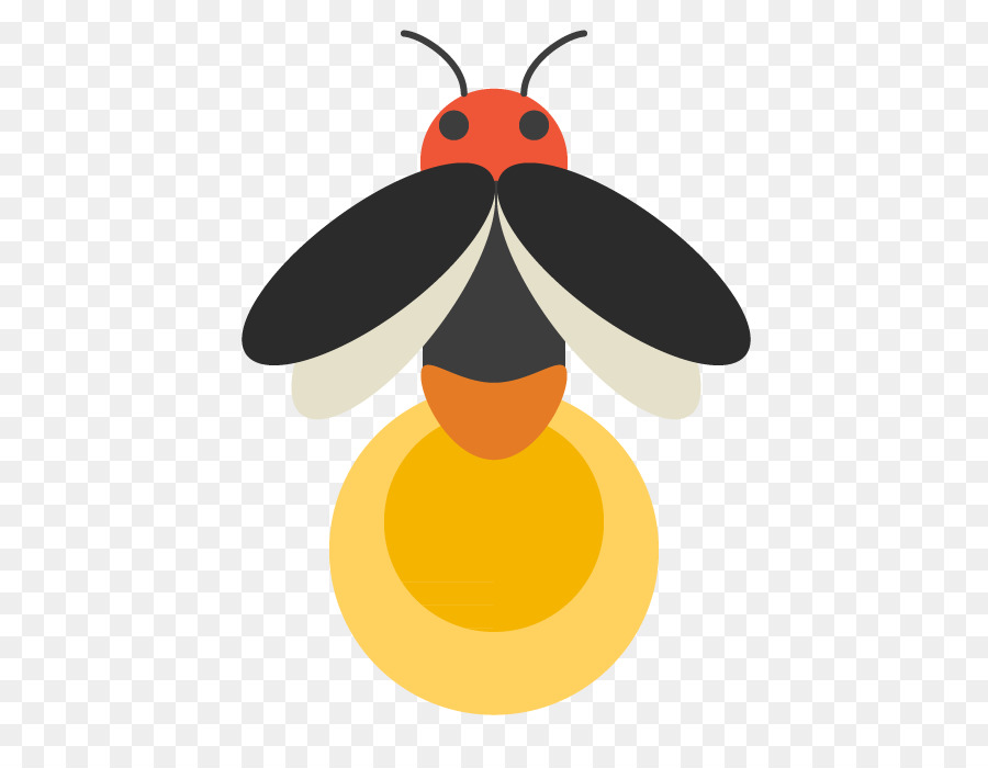Firefly Illustration Insect Clip Art Col #516720 - PNG ...