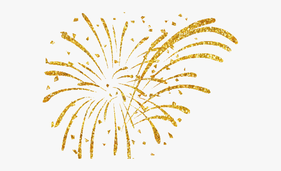 Gold Fireworks Png - Fireworks Clipart Gold - New Year Fireworks Png #1255 - Free ...