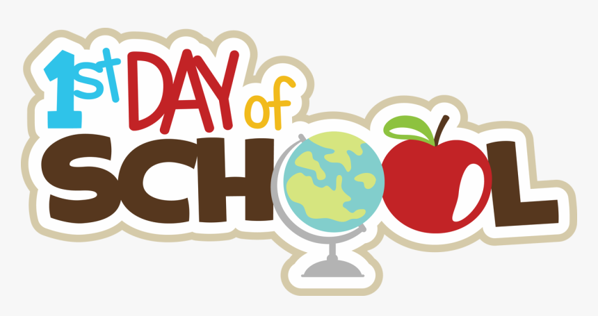 First School Png - First Day Of School Sticker, HD Png Download - kindpng