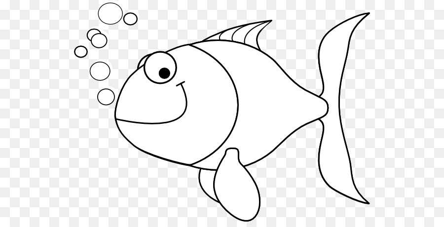 Bass Fishing Png Black And White - Fish as food Bass Clip art - Black Outline Of A Fish png download ...