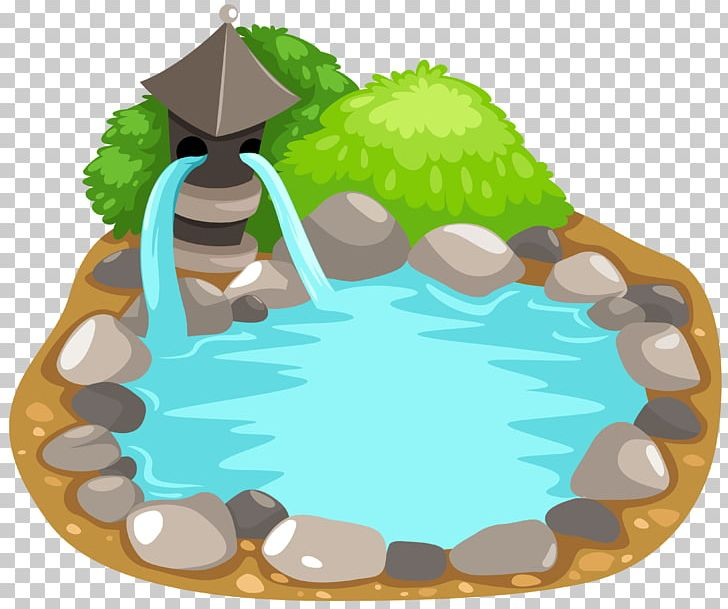 fishes in pond cartoon - Clip Art Library