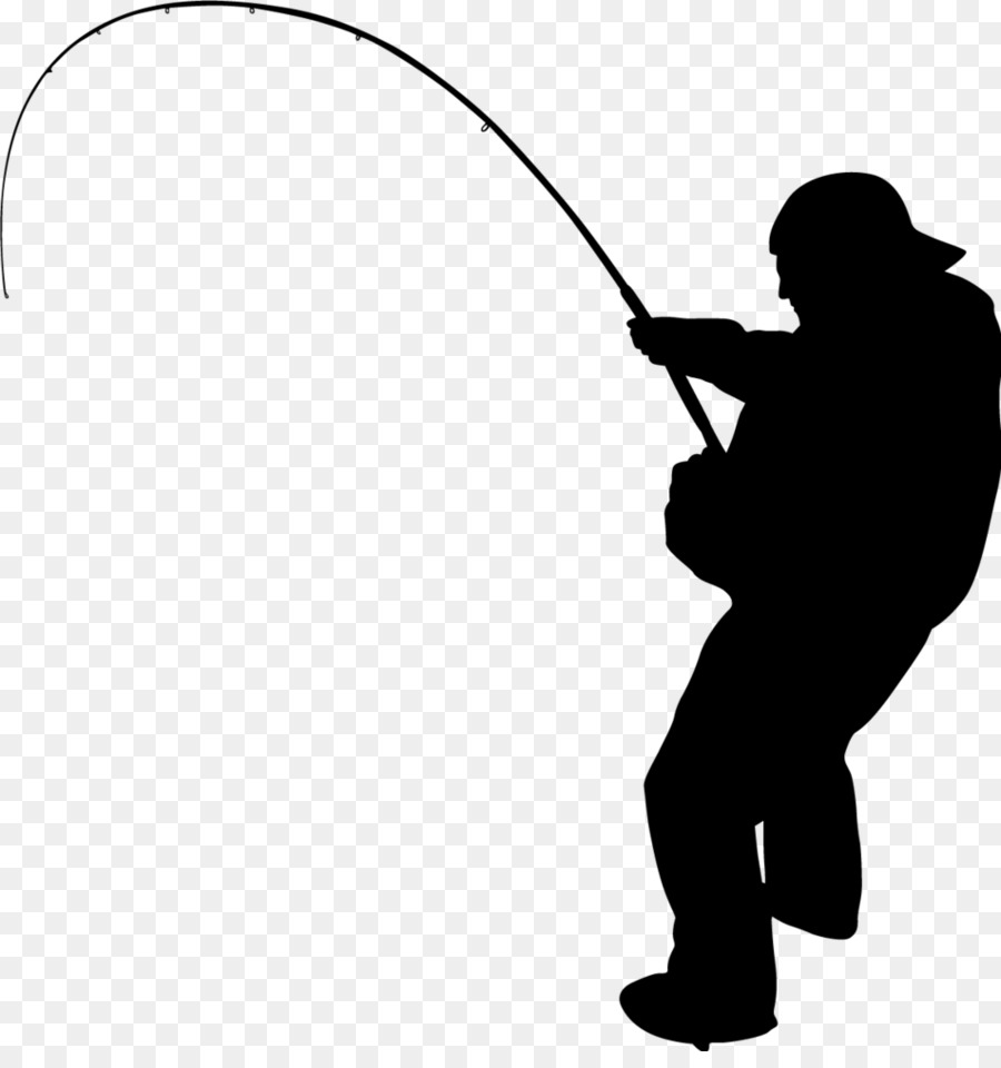 Fishing Silhouette Png - Fishing, Silhouette, Illustration, transparent png image & clipart ...