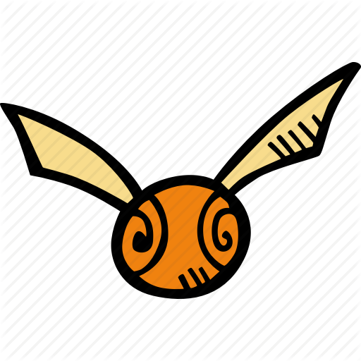 Golden Snitch Outline & Free Golden Snitch Outline.png ...