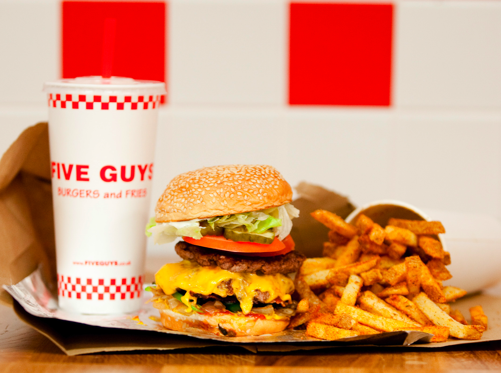 Guy With Food Png - Five Guys UK announces annual turnover leap to £24m 16 October ...