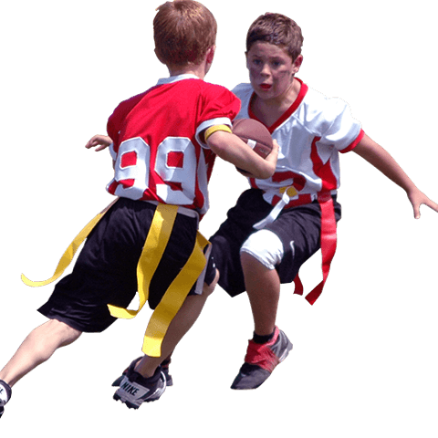 Flag Football Player Png - Flag Football - Tip Of The Spear Football