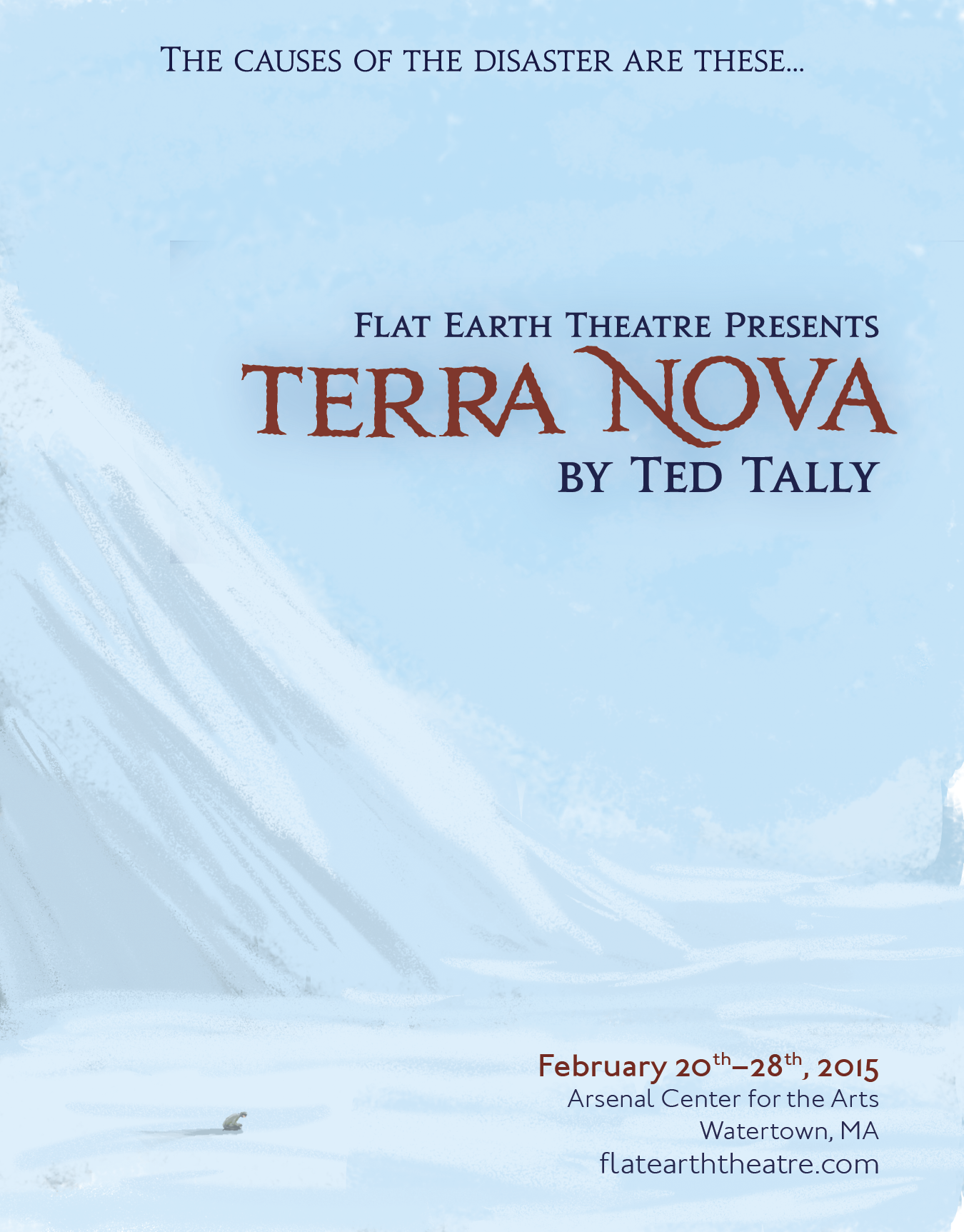 Ted Tally Png - Flat Earth Theatre Ventures South in Gripping Historical Drama ...
