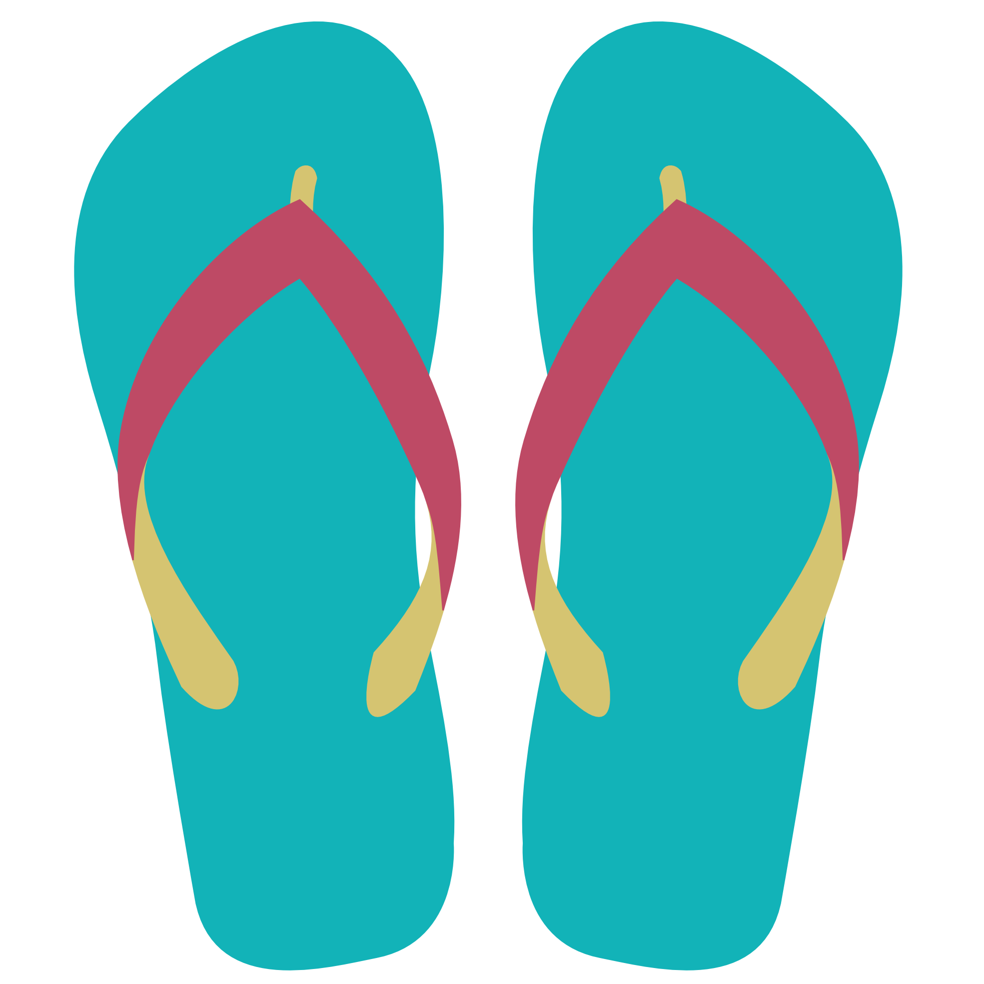 Cartoon Flip Flops Png - Flip-flops Slipper Sandal Cartoon Clip art - Cartoon sandals ...