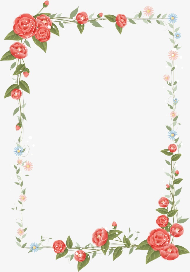 Flowers Border Png