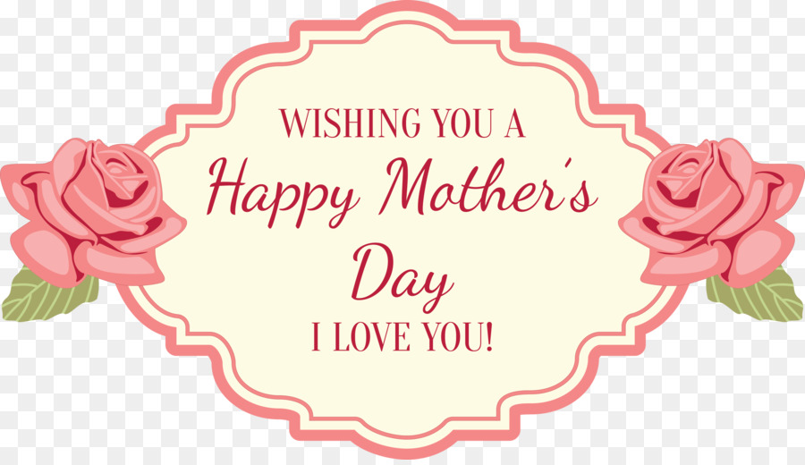 Mothers Day Greetings Png - Flower Cartoon Mothers Day