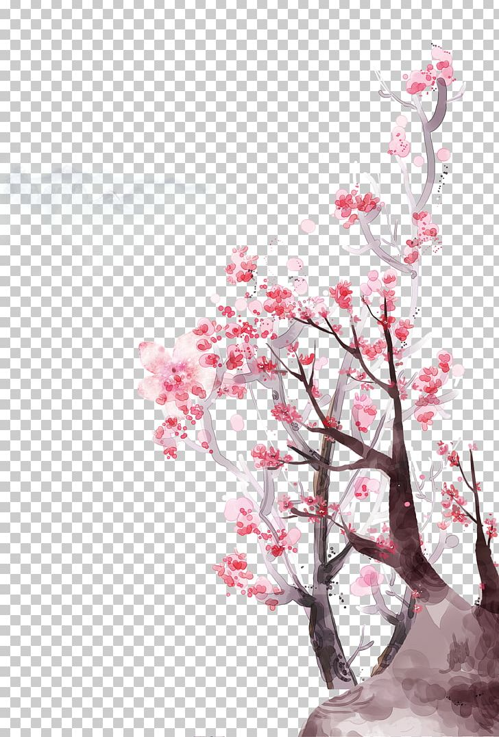 Flowering Peach Trees Png - Flowering Peach Trees Poster PNG, Clipart, Bloom, Blossom, Branch ...