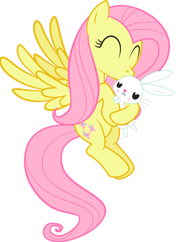 Fluttershy My Little Pony Friendship I 523737 Png Images Pngio