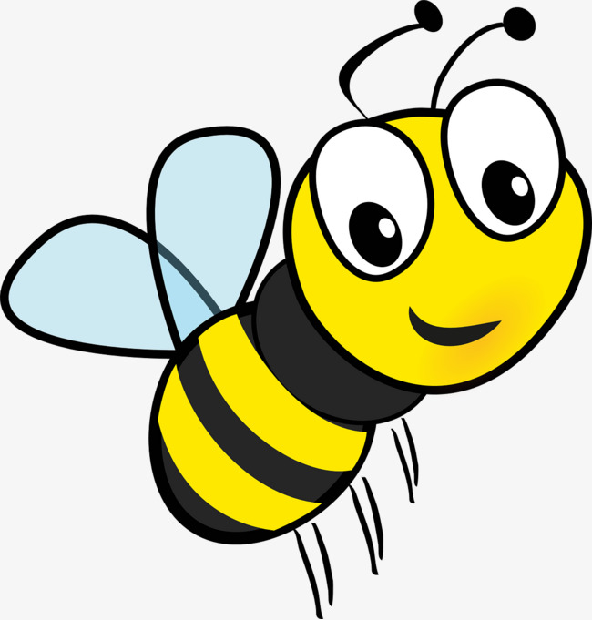 Bee Png - flying cartoon bee, Flight, Cartoon, Bee PNG Image and Clipart