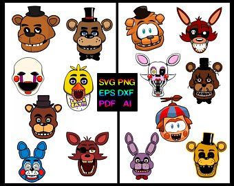 Fnaf Clipart - Fnaf Clip Art (95+ images in Collection) Page 1
