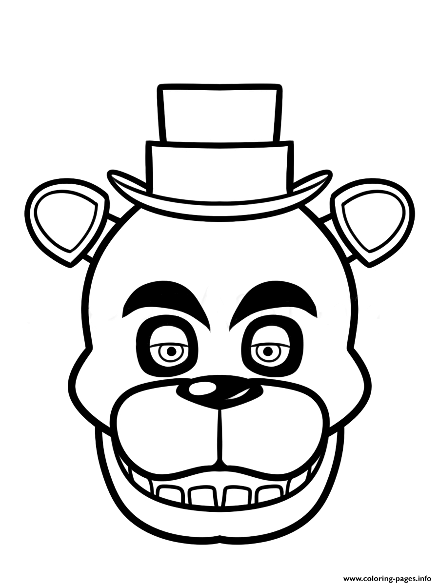 Fnaf Clipart - Fnaf clipart black and white 3 » Clipart Portal