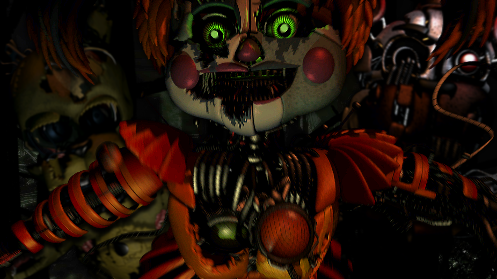 Fnaf Jumpscare Wallpapers Wallpaper Ca 1009612 Png