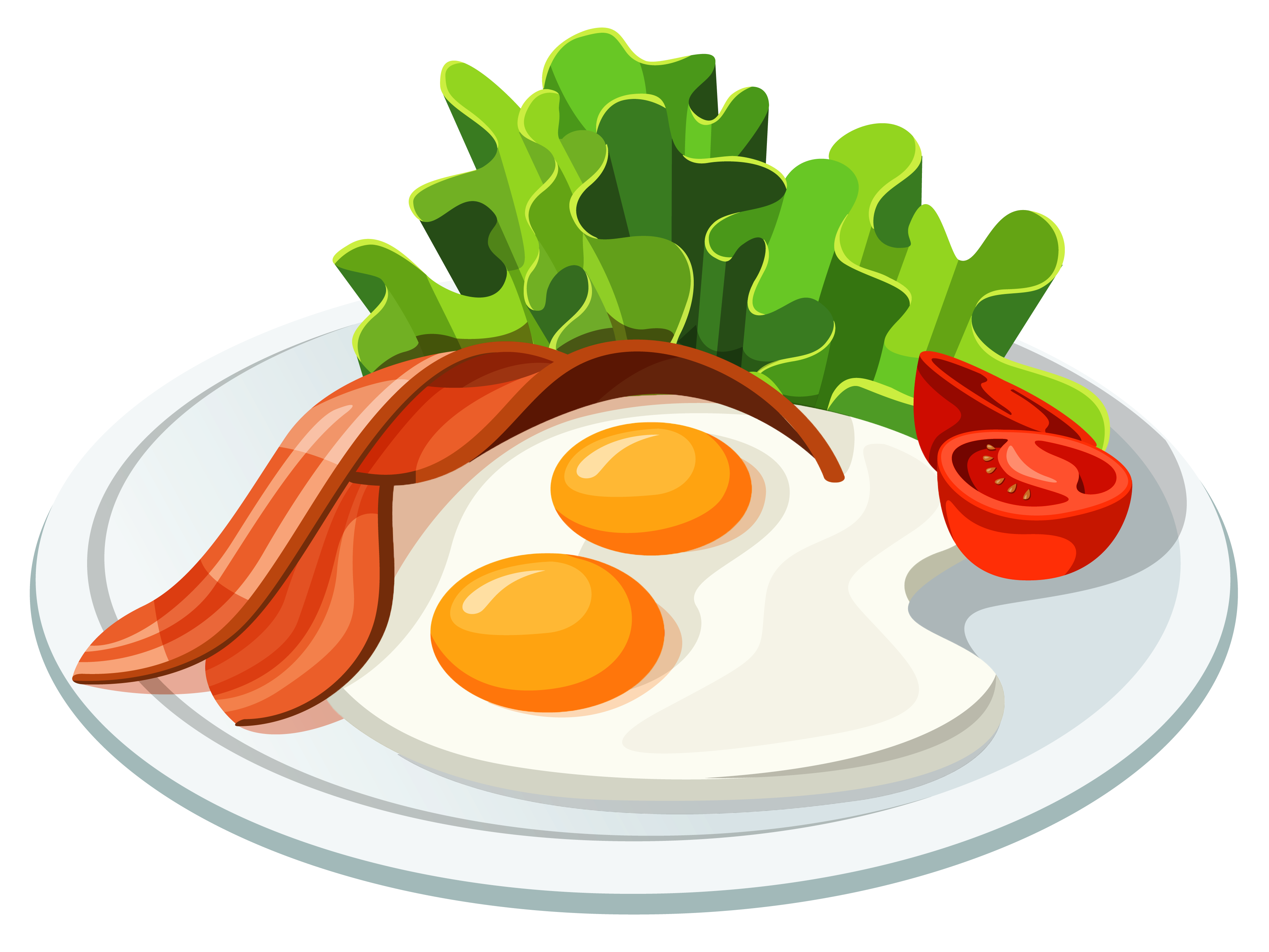 Breakfast Food Png Free - Food Egg Tomato PNG #72745 - PNG Images - PNGio