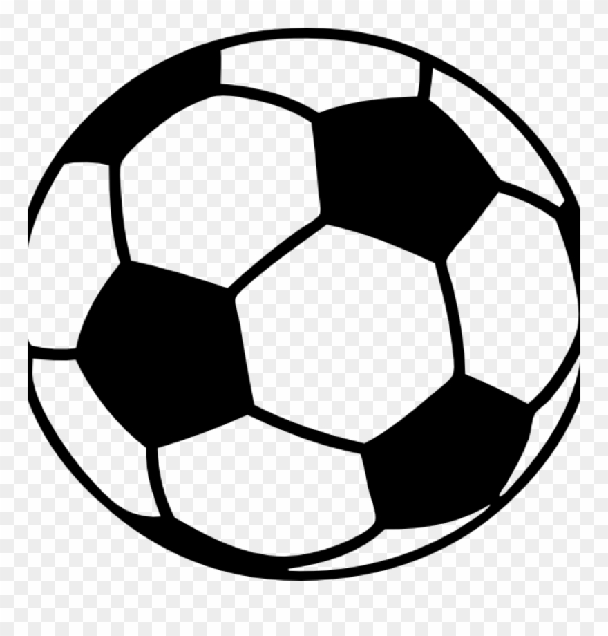 Black And White Football Png No Background - Football Clipart Printable - Clip Art Transparent Background ...