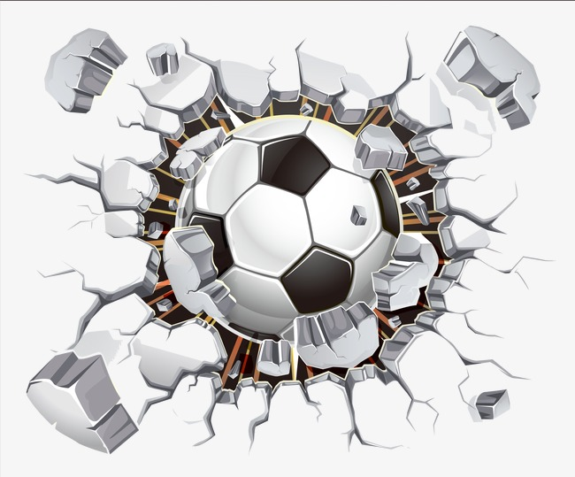 Football Crack Shock 1679 Png Images Pngio