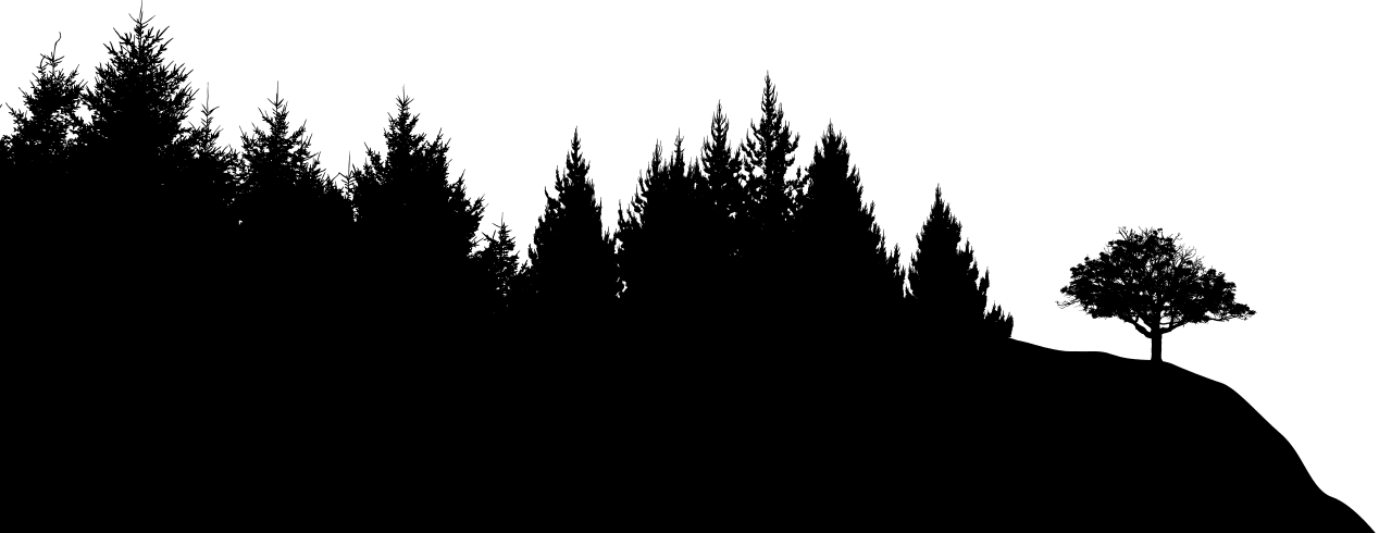 Forest Silhouette Transparent Background - Forest silhouette clipart images gallery for free download ...
