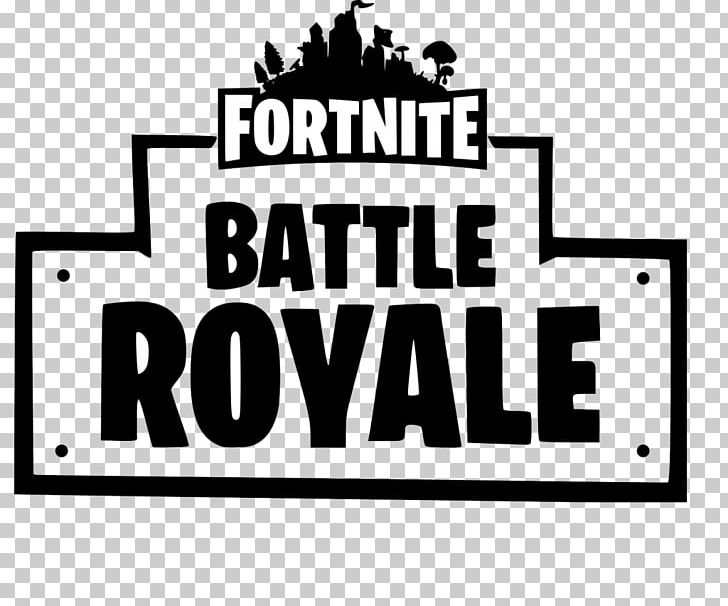 Game Black And White Png - Fortnite Battle Royale Logo PNG, Clipart, Area, Battle Royale Game ...