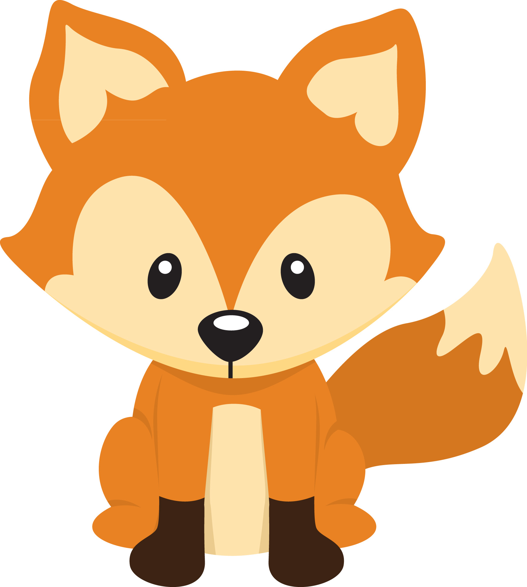 Baby Fox Png - Free Baby Fox Silhouette, Download Free Clip Art, Free Clip Art on ...
