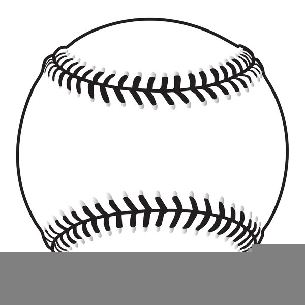 Baseball black and white. Free png