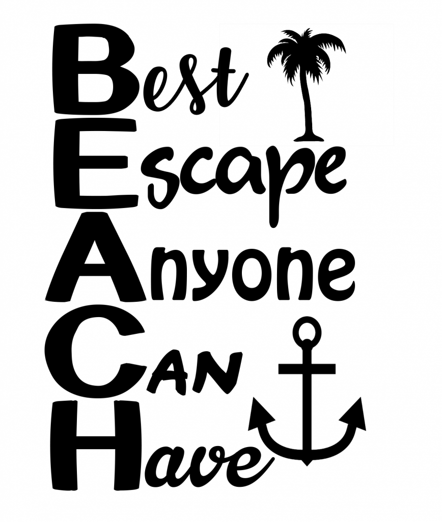 37+ Relax You're At The Beach Svg – Beach Decor – Beach Sign Svg – 680 PNG