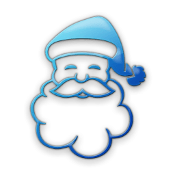 Free Blue Santa Cliparts Download Free Png Images Pngio