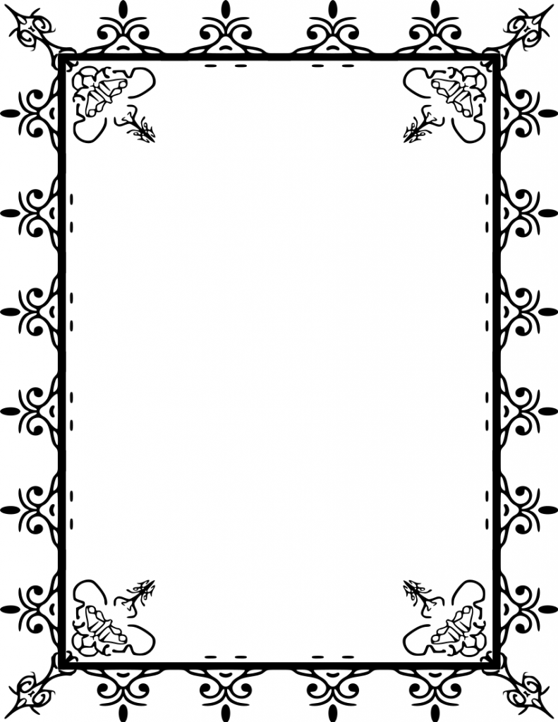 Line Art Borders Png Free - Free Clip Art Borders And Frames & Look At Clip Art Images ...