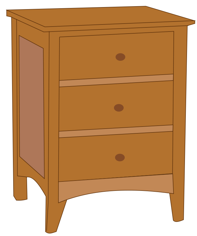 End Table Clipart - Free Clipart: Endtable 1 | Rfc1394